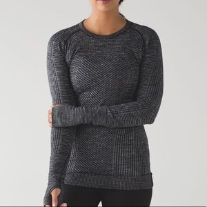 Lululemon Restless Pullover Heathered Black